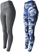 KIT 2 Leggings Fitness Suplex Lisa ou Estampada