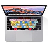 Electronics : Adobe Photoshop Keyboard Cover for MacBook Pro Touch Bar - Protection and Shortcut Skin. 13"