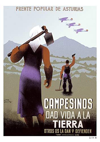 160 carteles de la guerra civil española. Láminas de Carteles de ...