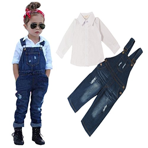 Little Sleeve Braces Trousers Outfits
