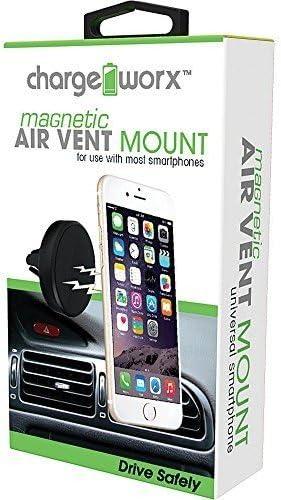 Chargeworx CX9902BK Magnetic Air Vent Mount Black