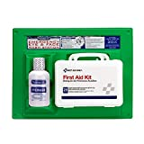 PhysiciansCare by First Aid Only by First Aid Only 24-500 160 Piece PhysiciansCare by First Aid Only by First Aid Only by First Aid Only First Aid Kit and 16 oz Eye Wash Station