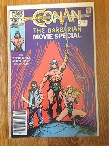 MARVEL COMICS GROUP CONAN THE BARBARIAN MOVIE SPECIAL NO. 1