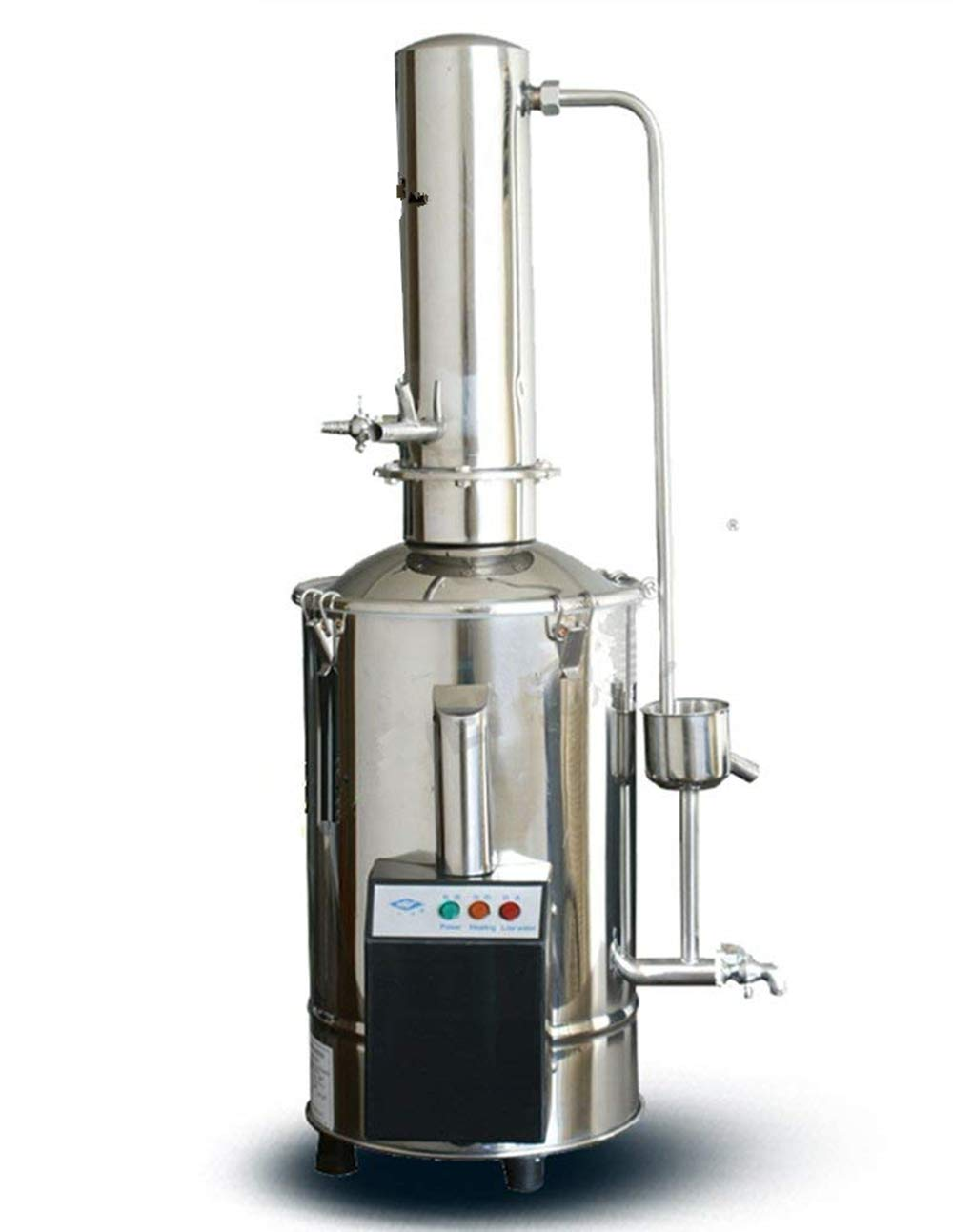 CGOLDENWALL Auto-Control Electric Water Distiller Water Distilling Machine Distilled Water 5L/h(220V)