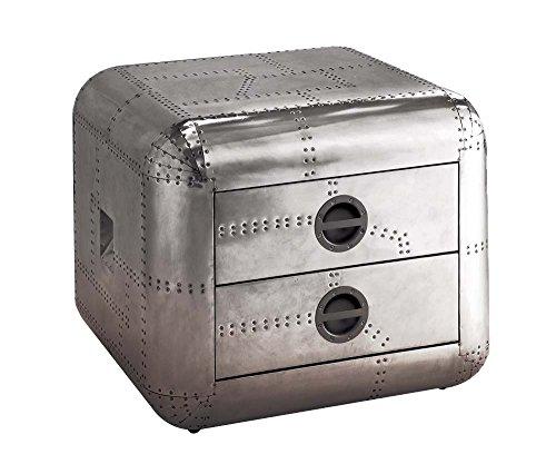 (Acme Furniture 82182 Brancaster End Table, Aluminum)