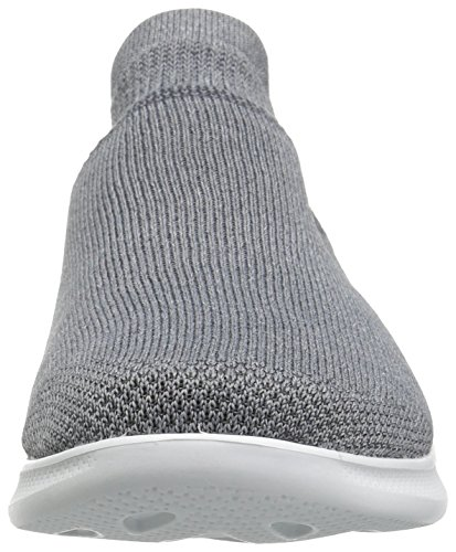 Skechers Performance Womens Go Step Lite-Ultrasock Walking Shoe Gray