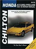 Honda Accord and Prelude, 1984-95 (Chilton Total Car Care Series Manuals)
