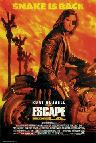Escape From L.A Movie Poster & Strip Set