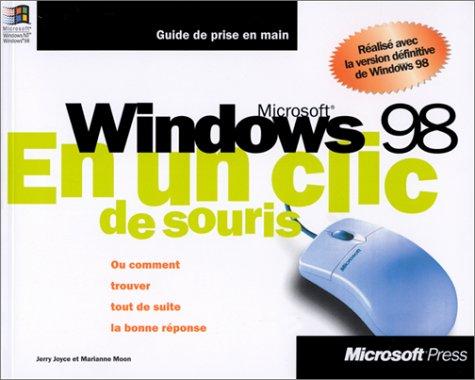 Price comparison product image Microsoft Windows 98 en un clic de souris