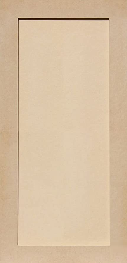 Unfinished Shaker Cabinet Doors In MDF By Kendor, 33H X 16W