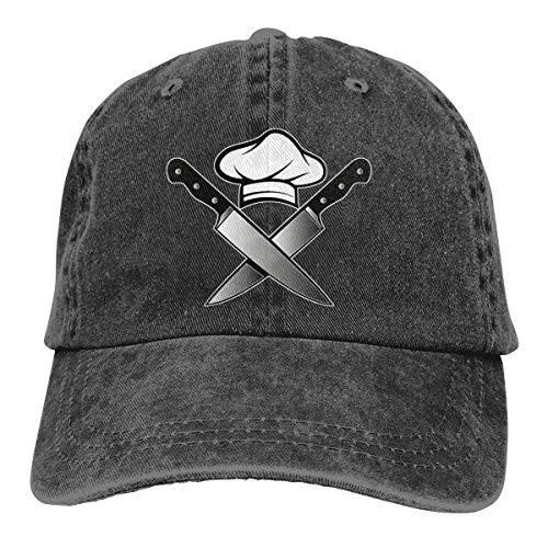 oking Skull Vintage Jeans Adjustable Baseball Cap Cotton Denim Dad Hat (One Size, Black 5) ()