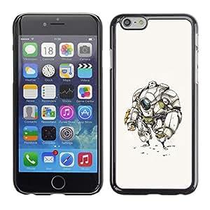 SKCASE Center / Funda Carcasa - Fi Dibujo Boceto Hombre Futuro;;;;;;;; - iPhone 6