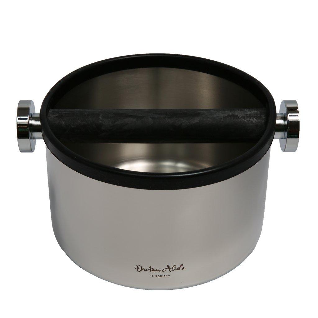 Dritan Alsela profesional Bote para tirar los posos del café 16,5cm Motta