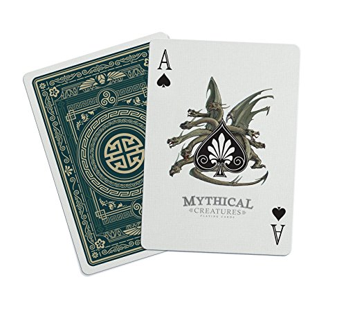 Bicycle Mythical Creatures Playing Cards by Gent Supply - Gift Bike Card Performance