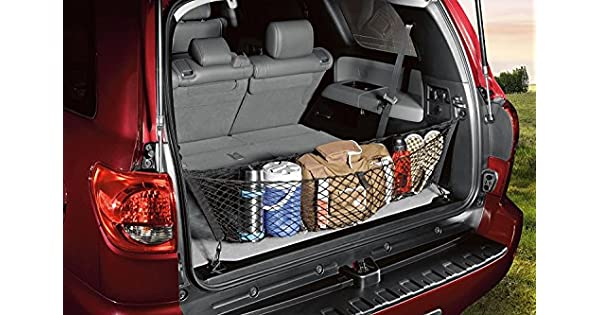 Toyota Genuine Accessories PT347-0C080 Envelope Style Cargo Net for Select Sequoia Models