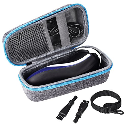 - Travel Hard Case for Electric Shaver Razor Philips Norelco 3100/6400/2100/4500/6100 Series for Men Women, Fits USB and Charger by SKYNEW,Light Grey