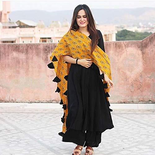 CRYSTAL FASHIONS Women SalwarSuit Set With Dupatta