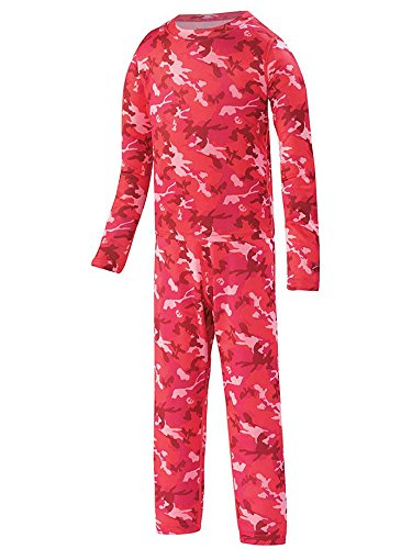- Terramar Kid's 1.0 Power Play Two Piece Set, Poppy Camo Print, 2T