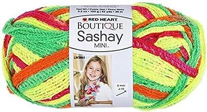 Breezy Yarn Red Heart Boutique Sashay Mini Yarn Coats