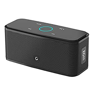 DOSS Touch Wireless Bluetooth V4.0 Portable Speaker w HD Sound and Bass DS-1681 Black