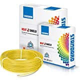 Havells Standard Single Core PVC Insulated HTR FR 90m 1 sq mm Wire (Yellow)