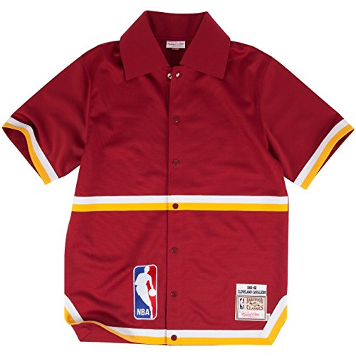 Cleveland Cavaliers Mitchell & Ness NBA 1981-82 Authentic Shooting Shirt (Nba Shooting Shirt)