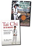 Bundle: Tai Chi in 10 Weeks book & Natural Healing with Qigong book **Exercise Bestsellers**
