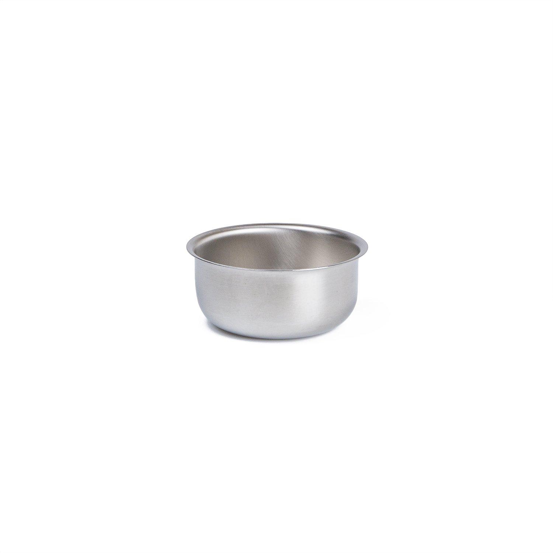 Medegen Medical Products 87406 Wash Basins Solution/Sponge, 5/8 quart Capacity, 5-1/4'' × 2-1/4'', Stainless Steel
