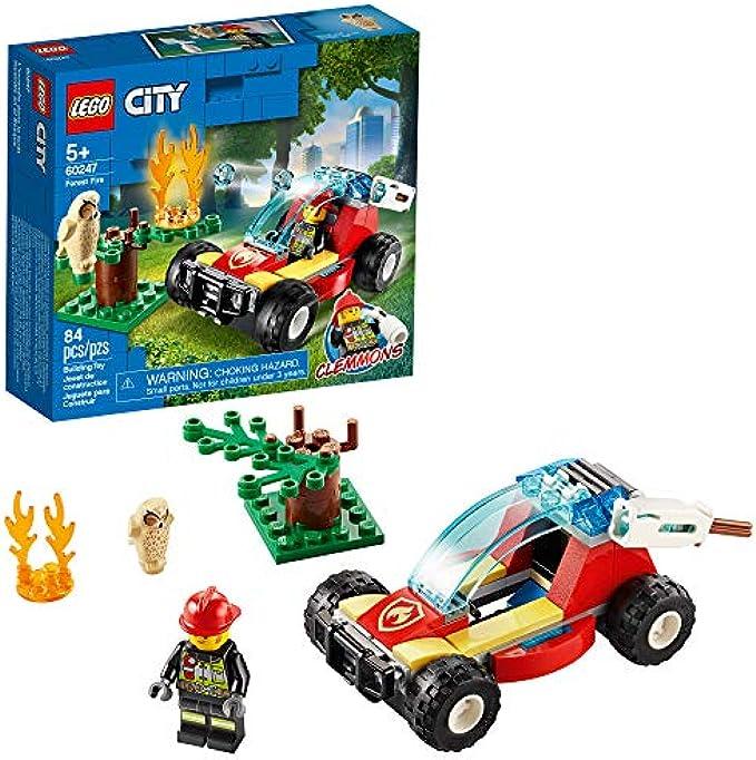 (new 2020)  שריפה ביער 60247 LEGO City