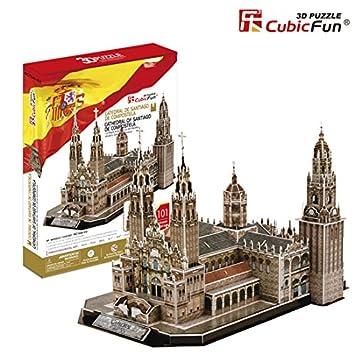 Puzzle 3D Catedral Santiago de Compostela