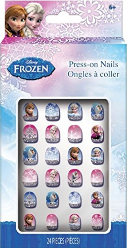 Frozen Press On Nails, 24 Count