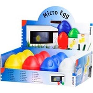 Cocedor de huevos para microondas, microondas, huevos individuales ...