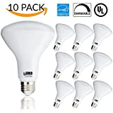 Sunco Lighting 10 PACK - BR30 LED 11WATT (65W Equivalent), 3000K Warm White, DIMMABLE, Indoor/Outdoor Lighting, 850 Lumens, Flood Light Bulb, UL & ENERGY STAR LISTED