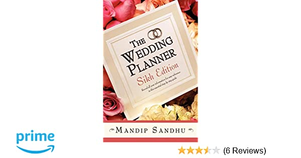 The Wedding Planner Sikh Edition: Record all your