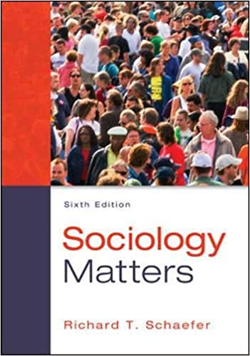 sociology matters 6th edition ebook