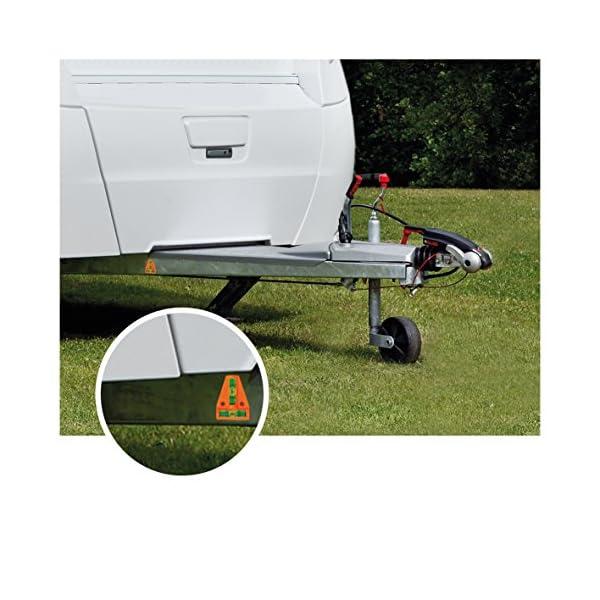 51T45zyKyWL ProPlus 341215 Magnetische Wasserwaage für Wohnwagen, Wohnmobil und Caravan