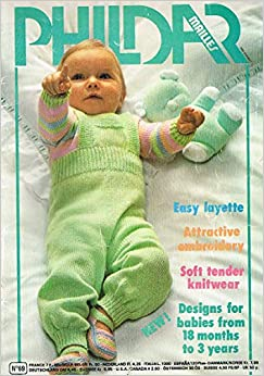 Phildar Mailles Baby Clothes Knitting Pattern Booklet 69: Designs For Babies ...