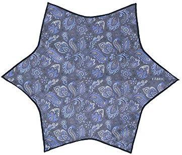 (ザ・スーツカンパニー) FABRIC メガネ拭きポケットチーフ ネイビー×ホワイト/ペイズリー