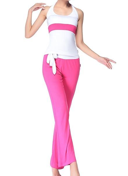 Gladiolus Ropa Deportiva Mujer Conjuntos Camisetas Yoga Fitness Running T Shirt + Pantalones De Yoga Deportiva: Amazon.es: Ropa y accesorios