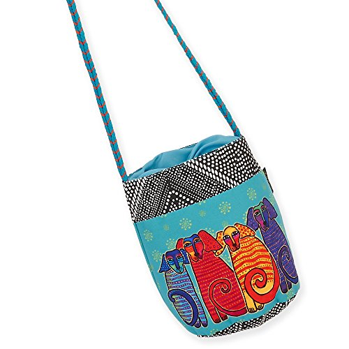 Bag Cat Drawstring Laurel Burch Canine G Friends Crossbody 7Cg5Ia5q