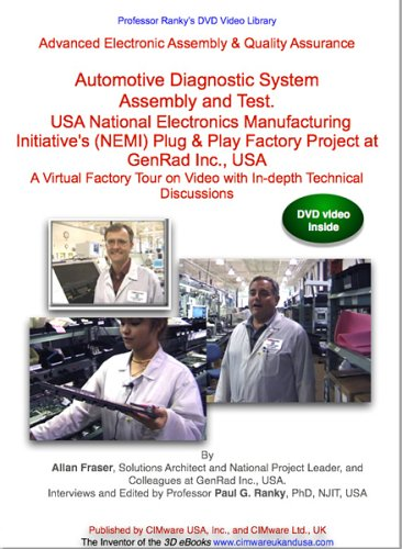 Advanced Electronic Assembly   Quality Assurance  Part 2  Automotive Diagnostic System Assembly And Test  The Usa National Electronics Manufacturing Initiatives  Nemi  Plug   Play Factory Project At Genrad Inc   Usa  A Virtual Factory Tour On Video With In Depth Technical Discussions