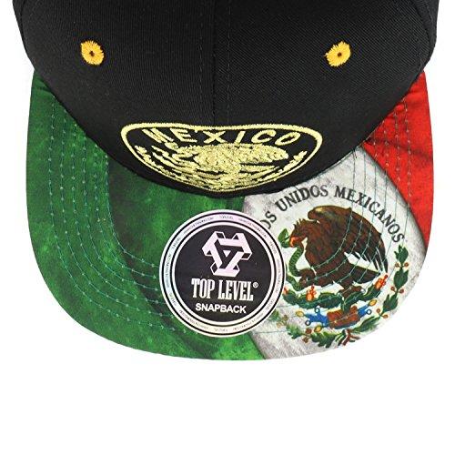 11d94abf51165 Trendy Apparel Shop Mexico Coat of Arms Golden Eagle Emblem ...