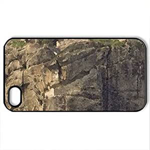 Meteora - Case Cover for iPhone 4 and 4s (Religious Series, Watercolor style, Black)