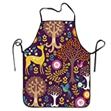 Norwegian Woods Personalized Aprons Home Bib Apron For Women Men Girl Kids Gifts Kitchen Decorations