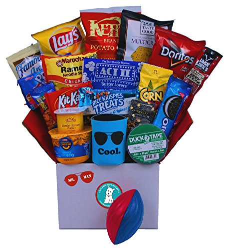 Mr. Man - College Care Package or Birthday Gift