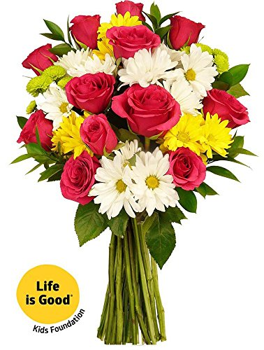UPC 680255039194, Benchmark Bouquets Life is Good Flowers Hot Pink, No Vase