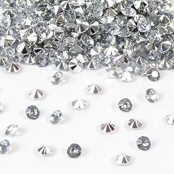 Premium Wedding table decorations 6mm Black Diamantes
