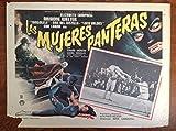 Las Mujeres Panteras (1967) Lobby Card