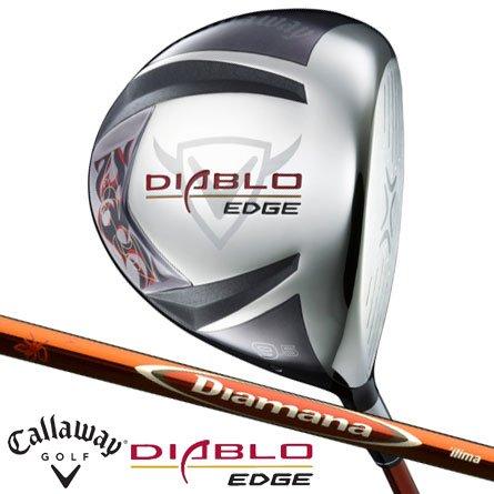 キャロウェイゴルフ DIABLO DIABLO EDGE ドライバー Black Diamana イリマ Diamana イリマ 60 8.5度 S 45インチ