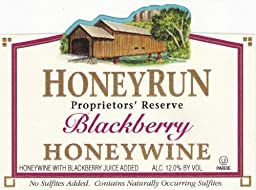 NV HoneyRun Winery Blackberry Honeywine 750 mL Wine